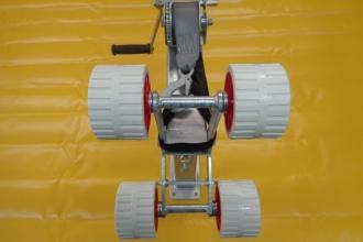Комплект опора + лебедка за надувна лодка